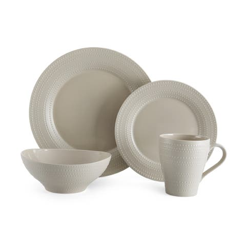 Mikasa Ryder Beige 4-piece Place Setting