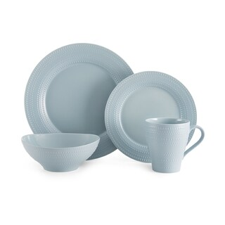 Mikasa Ryder Blue Earthenware 4-piece Place Setting