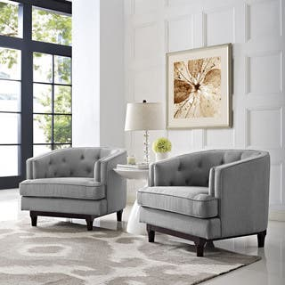 Coast Set of 2 Button Tufted Armchairs|https://ak1.ostkcdn.com/images/products/12755289/P19531335.jpg?impolicy=medium
