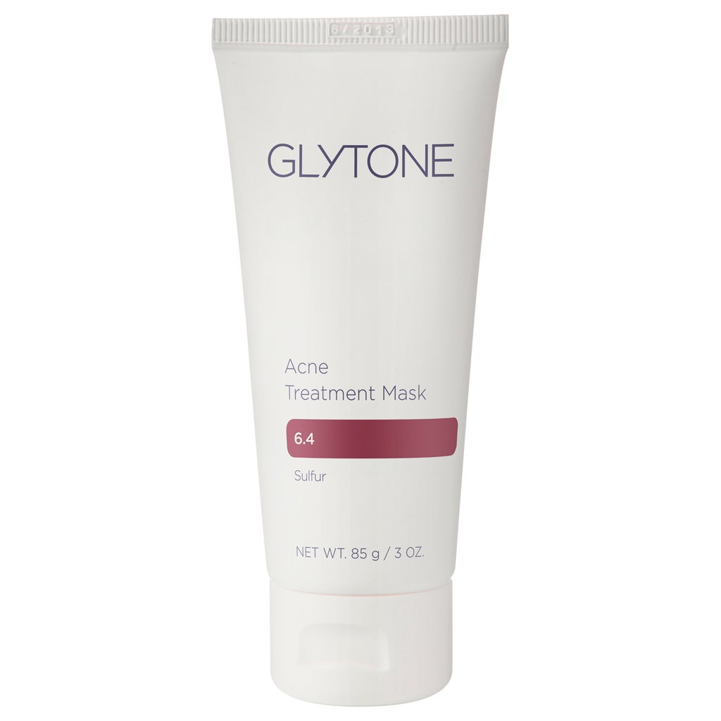 Glytone 3-ounce Acne Treatment Mask, Ivory cream