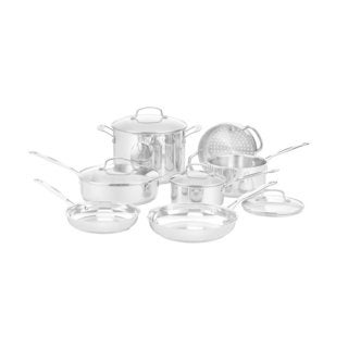 Cuisinart Chef's Classic Cookware Set, 11 Piece