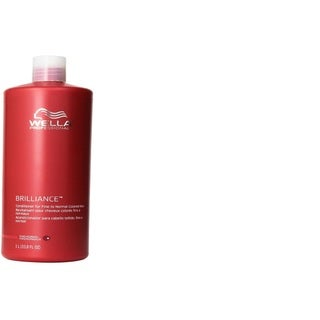 Wella Brilliance 33.8-ounce Conditioner for Fine To Normal Hair
