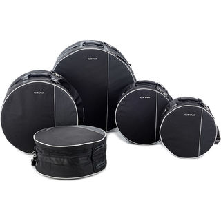 Gewa Black Cordura Premium Fusion 2 Drum Set Gig Bags