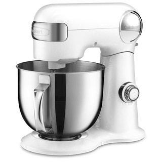 Cuisinart SM-50 White 5.5-quart Stand Mixer