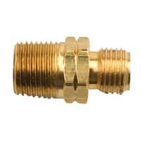 "Mr Heater F276153 3/8"" X 9/16"" Male Pipe Thread Propane Fitting"