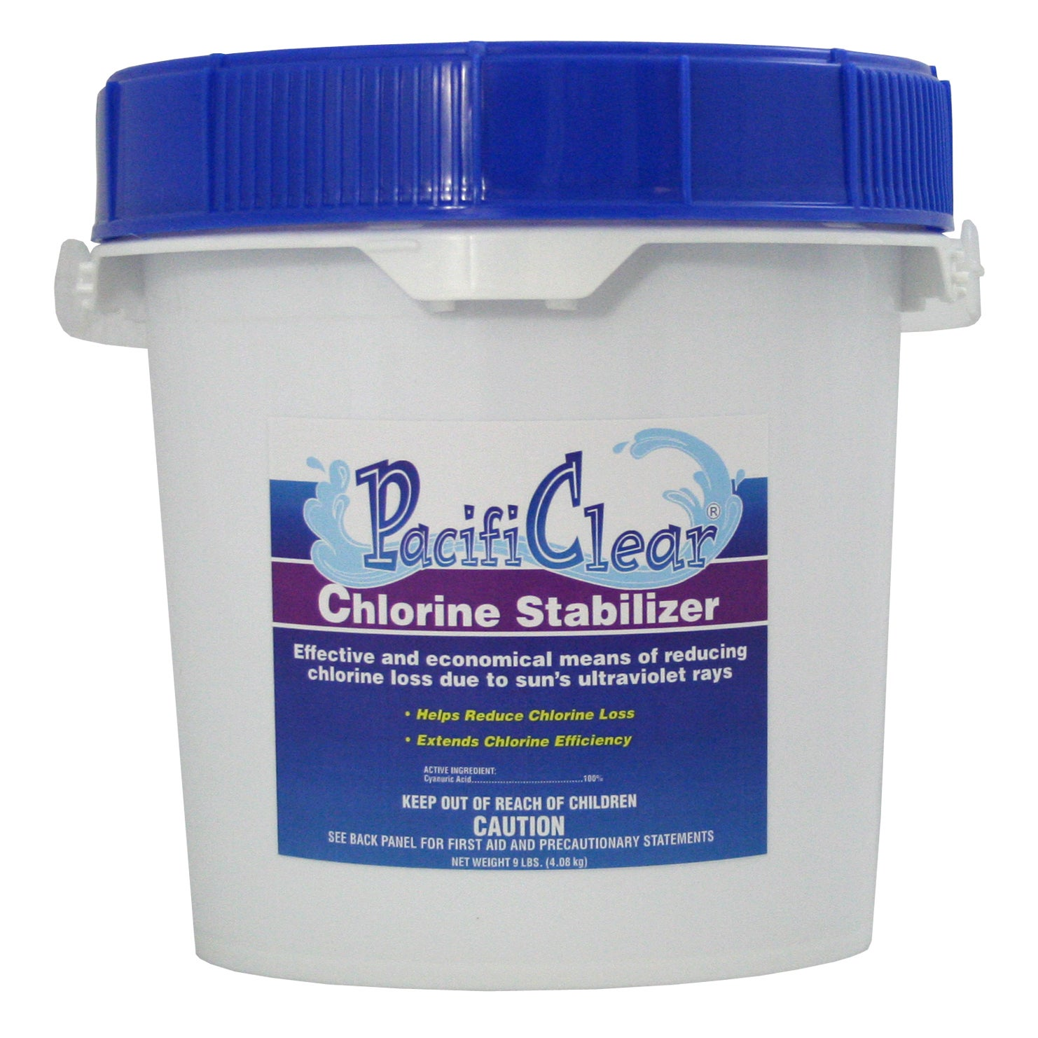 Water Techniques Pacifi Clear F081004032PC 4 lb. Chlorine...