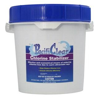 Pacifi Clear F081004032PC 4 lb. Chlorine Stabilizer Pail