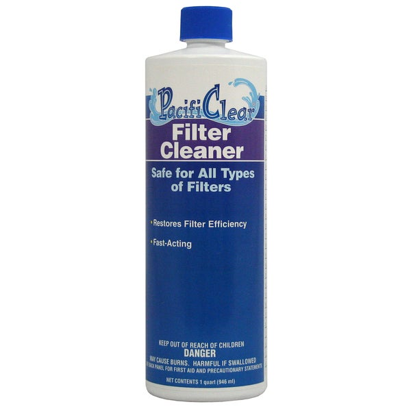 Pacifi Clear F075001012PC 1 Quart Filter Cleaner