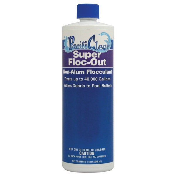 Pacifi Clear F071001012PC 1 Quart Super Floc-Out