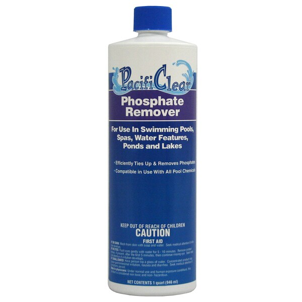 Pacifi Clear F059001012PC 1 Quart Phosphate Remover