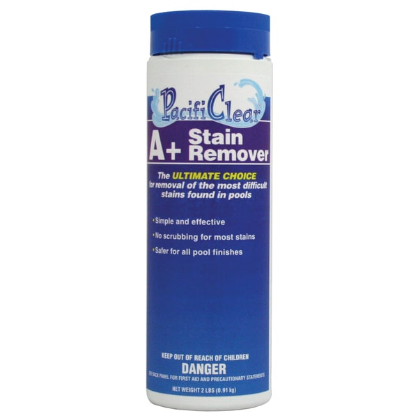 Pacifi Clear F020002024PC 2 Lb A+ Stain Remover