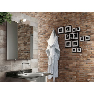 Black Label Living Castle Sunset Porcelain 2 x 10-inch Floor and Wall Tile (Case of 32 / 6.24 sft.)