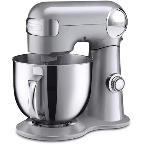 Cuisinart Precision Master 5.5-Quart Stand Mixer, Brushed Chrome