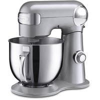 Cuisinart Precision Master 5.5-Quart Stand Mixer, Brushed Chrome