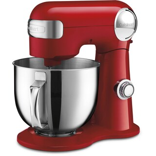 Cuisinart Precision Master 5.5-Quart Stand Mixer, Red
