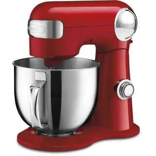 Cuisinart Precision Master 5.5 Quart Stand Mixer, Red