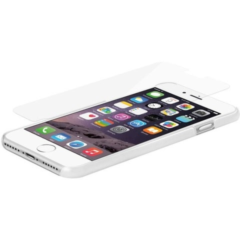 Macally Tempered Glass Screen Protector for iPhone 7 Plus Transparent