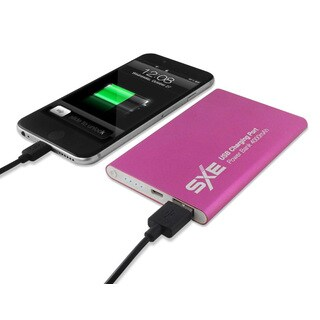 SXE Metal 4,000-milliamp-hour Lightweight Portable Power Bank