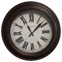 Westclox 20-inch Round Roman Numeral Wall Clock