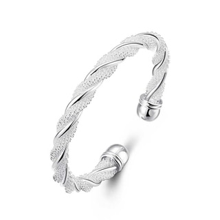 Link to Sterling SilverTwisted Mesh Bracelet - Silver Similar Items in Bracelets