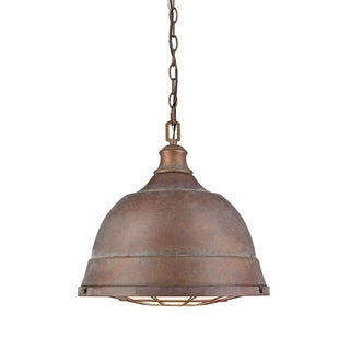 Golden Lighting Bartlett #7312-L CP Copper Patina Steel 2-light Pendant