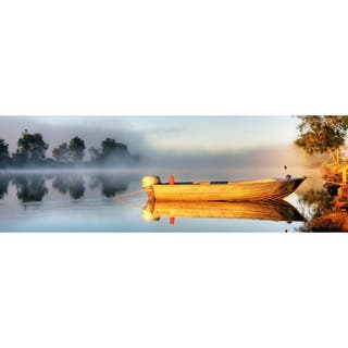 Cortesi Home 'Lose Yourself' Tempered Glass Wall Art