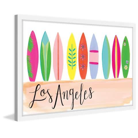 Marmont Hill - Handmade Surfboards Framed Print