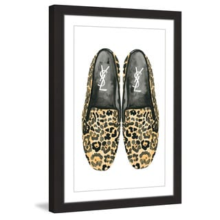 Marmont Hill - 'Loafers' by Dena Cooper Framed Painting Print