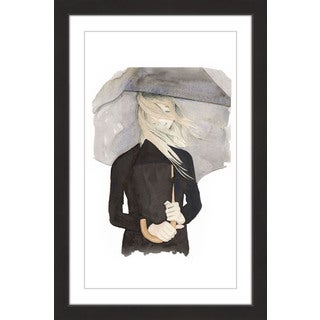 Marmont Hill - 'Under My Umbrella' by Dena Cooper Framed Painting Print