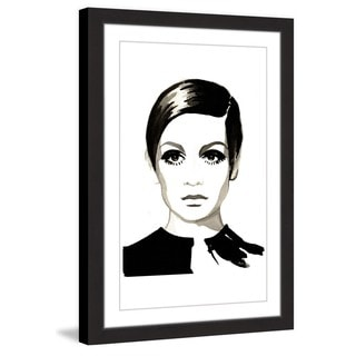 Marmont Hill - 'Twiggy' by Dena Cooper Framed Painting Print