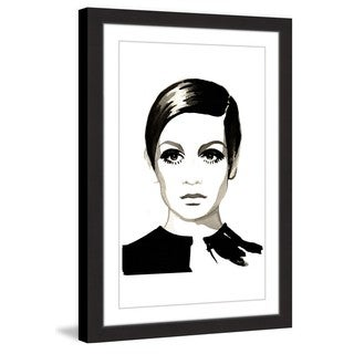 Marmont Hill - 'Twiggy' by Dena Cooper Framed Painting Print - Multi