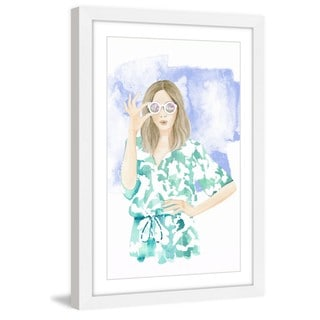 Marmont Hill - 'Tropical Fever' by Dena Cooper Framed Painting Print