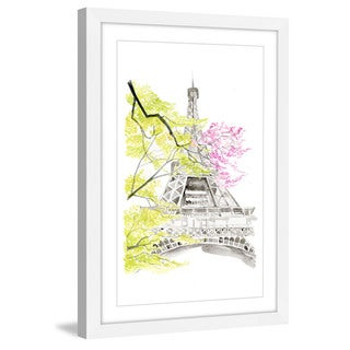 Marmont Hill - 'Spring in Paris' by Dena Cooper Framed Painting Print
