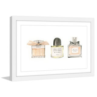 Marmont Hill - 'Perfume Addict' by Dena Cooper Framed Painting Print