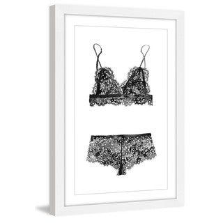 Marmont Hill - 'Lingerie Love' by Dena Cooper Framed Painting Print