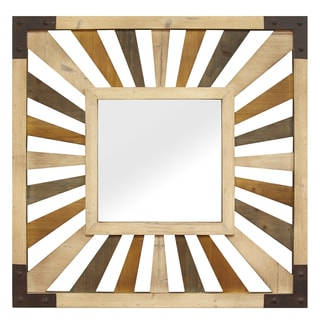 Stratton Home Decor Gigi Wood Mirror