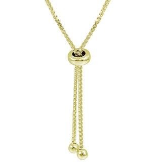 DB Designs Sterling Silver Diamond Accent Heart Link Adjustable Slider Bracelet