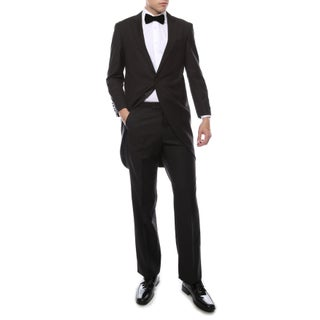 Ferrecci Men's Regular-fit Cutaway Tail Tuxedo (2-piece)