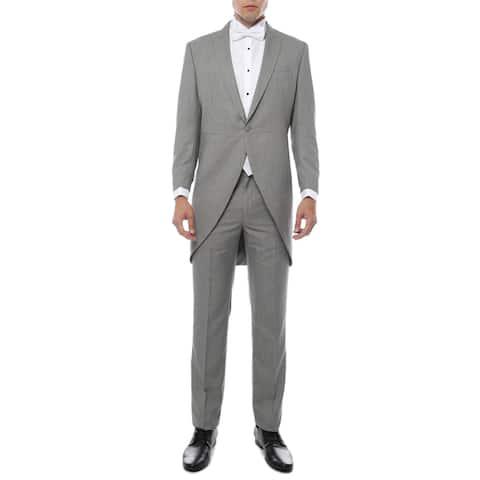 Ferrecci Men's Regular-fit Cutaway Tail Tuxedo (2-piece)