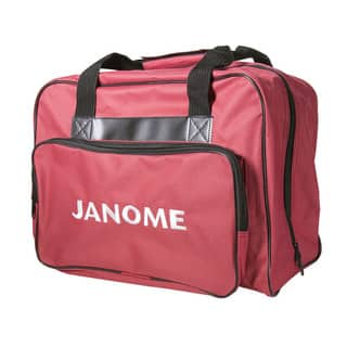 Janome Red Canvas Universal Sewing Machine Tote Bag|https://ak1.ostkcdn.com/images/products/12767507/P19541803.jpg?impolicy=medium