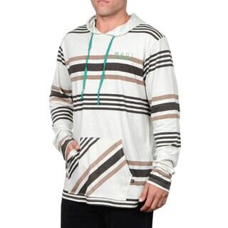 Maui & Sons Men's Low Down Knit Fashion Hoodie