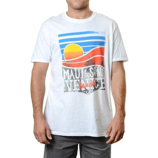 Maui & Sons VCA White Cotton Tee