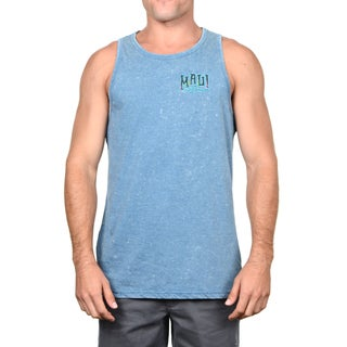 Maui & Sons Men's Surf Badge Tank Top