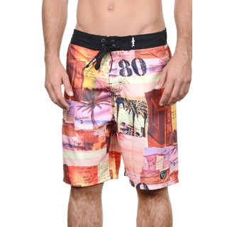 Maui and Sons Men's Pier Polyester Surf Boardshort