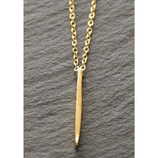 Mint Jules 18k Gold Overlay Spike 18-inch Layering Necklace