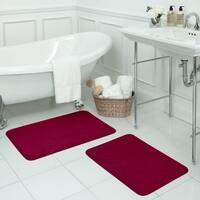 Naoli Micro Plush Memory Foam 17 x 24-inch Bath Mat with BounceComfort Technology