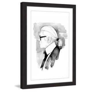 Marmont Hill - 'Karl' by Dena Cooper Framed Painting Print