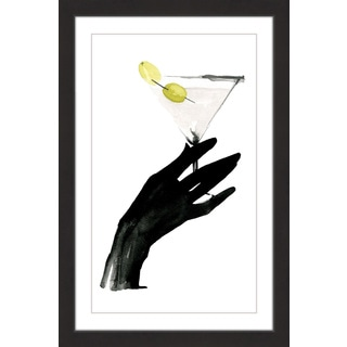 Marmont Hill - 'Dirty Cocktail' by Dena Cooper Framed Painting Print