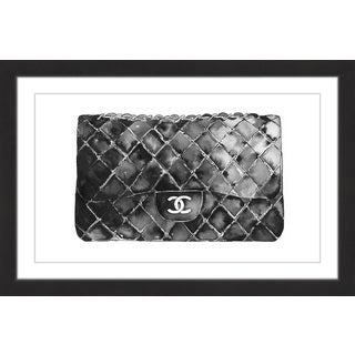 Marmont Hill - 'Black Bag' by Dena Cooper Framed Painting Print