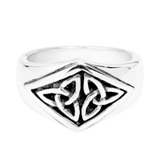 Nice Celtic Triquetra Knot .925 Silver Ring (Thailand)